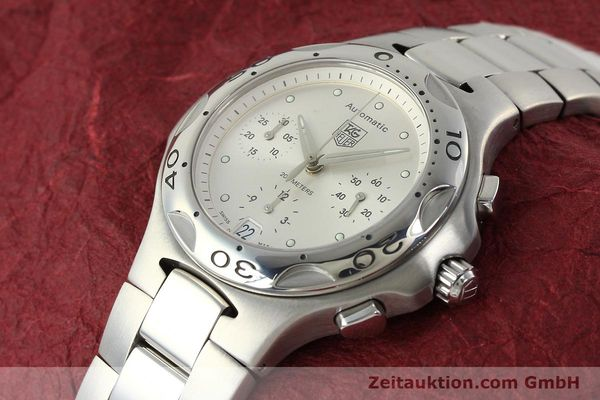 Used luxury watch Tag Heuer Kirium chronograph steel automatic Kal. ETA 2894-2 Ref. CL2112  | 142752 01