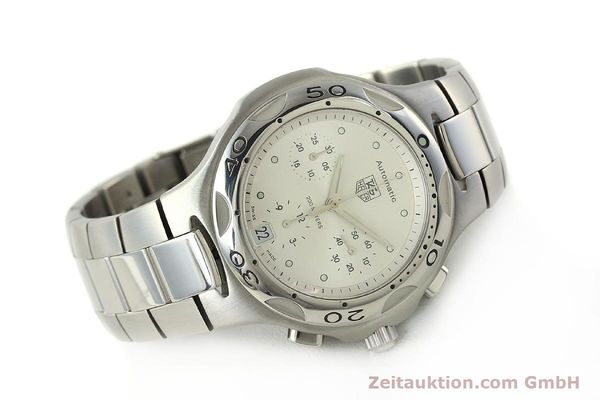 Used luxury watch Tag Heuer Kirium chronograph steel automatic Kal. ETA 2894-2 Ref. CL2112  | 142752 03