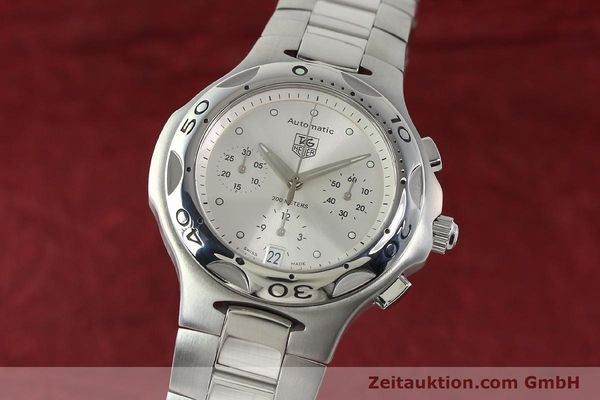 Used luxury watch Tag Heuer Kirium chronograph steel automatic Kal. ETA 2894-2 Ref. CL2112  | 142752 04