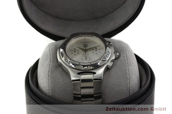 Used luxury watch Tag Heuer Kirium chronograph steel automatic Kal. ETA 2894-2 Ref. CL2112  | 142752 07