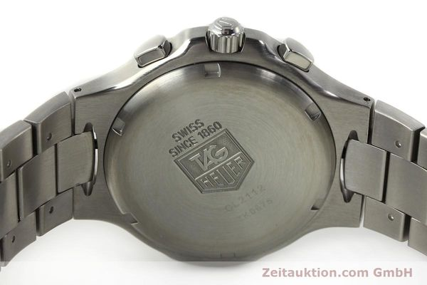 Used luxury watch Tag Heuer Kirium chronograph steel automatic Kal. ETA 2894-2 Ref. CL2112  | 142752 09