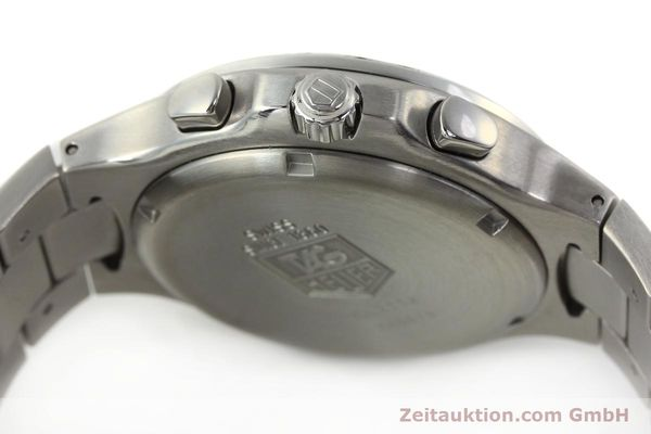 Used luxury watch Tag Heuer Kirium chronograph steel automatic Kal. ETA 2894-2 Ref. CL2112  | 142752 11