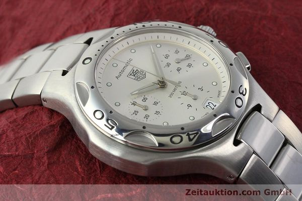 Used luxury watch Tag Heuer Kirium chronograph steel automatic Kal. ETA 2894-2 Ref. CL2112  | 142752 15