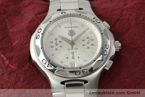 Used luxury watch Tag Heuer Kirium chronograph steel automatic Kal. ETA 2894-2 Ref. CL2112  | 142752 16
