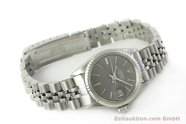 Used luxury watch Rolex Lady Date steel / white gold automatic Kal. 2030 Ref. 6517  | 142754 03