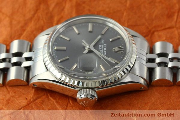 Used luxury watch Rolex Lady Date steel / white gold automatic Kal. 2030 Ref. 6517  | 142754 05