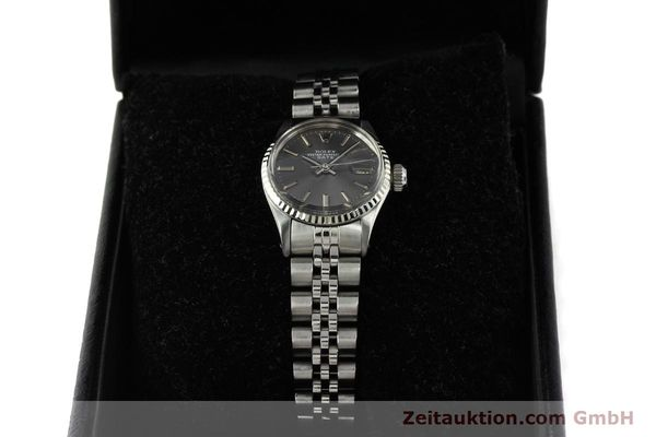 Used luxury watch Rolex Lady Date steel / white gold automatic Kal. 2030 Ref. 6517  | 142754 07