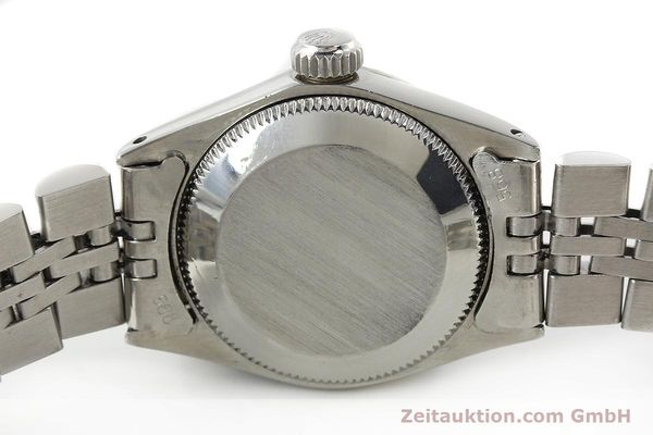 Used luxury watch Rolex Lady Date steel / white gold automatic Kal. 2030 Ref. 6517  | 142754 08