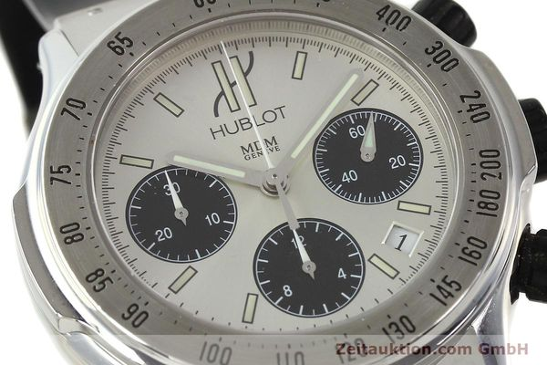Used luxury watch Hublot Super B chronograph steel automatic Kal. MDM ETA 2892A2 Ref. 1920.1  | 142762 02