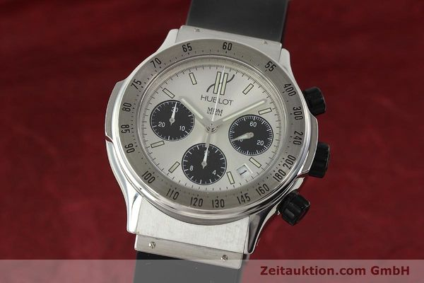 Used luxury watch Hublot Super B chronograph steel automatic Kal. MDM ETA 2892A2 Ref. 1920.1  | 142762 04