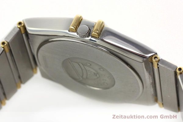 Used luxury watch Omega Constellation steel / gold quartz Kal. ETA 255.461  | 142763 11