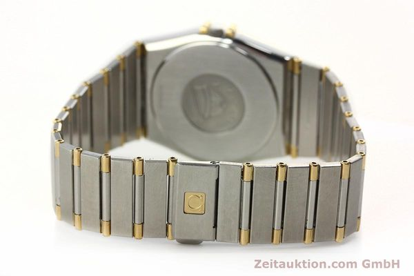 Used luxury watch Omega Constellation steel / gold quartz Kal. ETA 255.461  | 142763 12