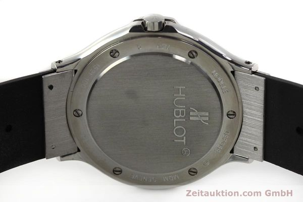 Used luxury watch Hublot MDM steel quartz Kal. ETA 955412 Ref. 15211001  | 142765 09