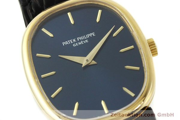 Used luxury watch Patek Philippe Ellipse 18 ct gold manual winding Kal. 16-250 Ref. 4226  | 142766 02