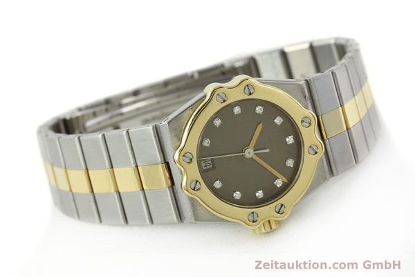 Used luxury watch Chopard St. Moritz steel / gold quartz Kal. ETA 956.112 Ref. SM28749  | 142767 03