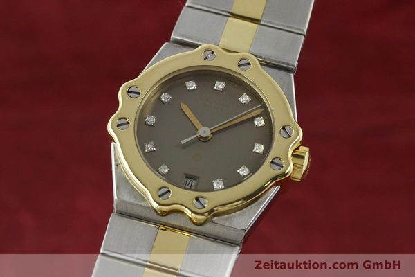 Used luxury watch Chopard St. Moritz steel / gold quartz Kal. ETA 956.112 Ref. SM28749  | 142767 04