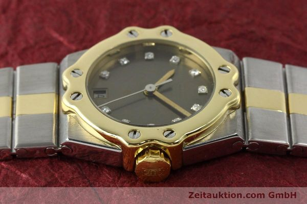 Used luxury watch Chopard St. Moritz steel / gold quartz Kal. ETA 956.112 Ref. SM28749  | 142767 05