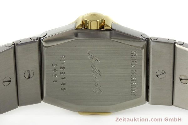 Used luxury watch Chopard St. Moritz steel / gold quartz Kal. ETA 956.112 Ref. SM28749  | 142767 09