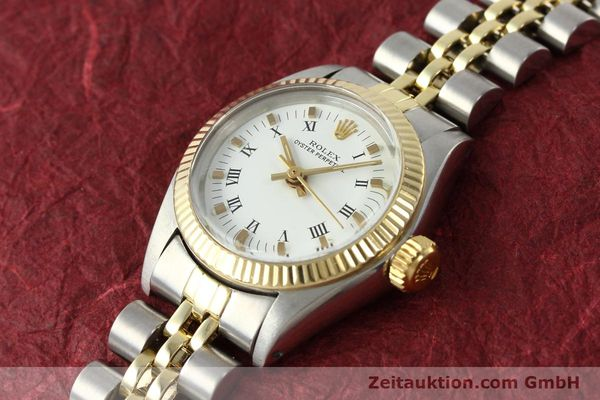Used luxury watch Rolex Oyster Perpetual steel / gold automatic Kal. 2030 Ref. 6719  | 142768 01