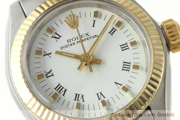 Used luxury watch Rolex Oyster Perpetual steel / gold automatic Kal. 2030 Ref. 6719  | 142768 02