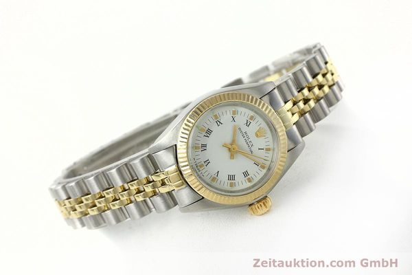 Used luxury watch Rolex Oyster Perpetual steel / gold automatic Kal. 2030 Ref. 6719  | 142768 03