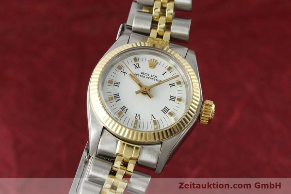 Used luxury watch Rolex Oyster Perpetual steel / gold automatic Kal. 2030 Ref. 6719  | 142768 04