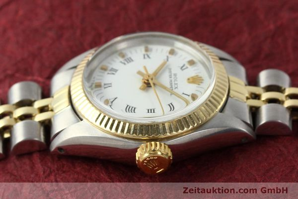 Used luxury watch Rolex Oyster Perpetual steel / gold automatic Kal. 2030 Ref. 6719  | 142768 05