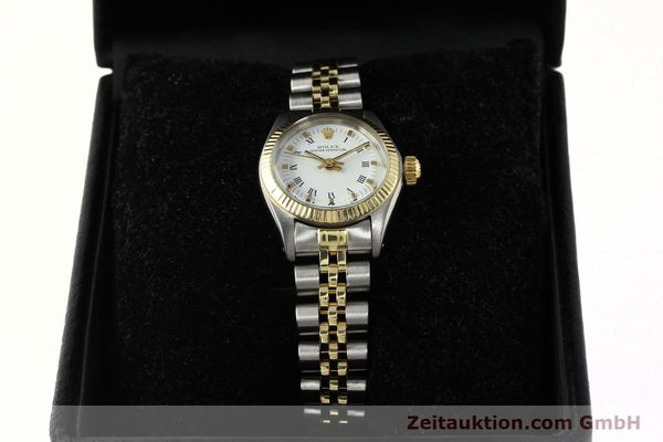 Used luxury watch Rolex Oyster Perpetual steel / gold automatic Kal. 2030 Ref. 6719  | 142768 07