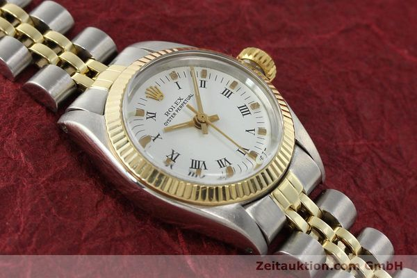 Used luxury watch Rolex Oyster Perpetual steel / gold automatic Kal. 2030 Ref. 6719  | 142768 14