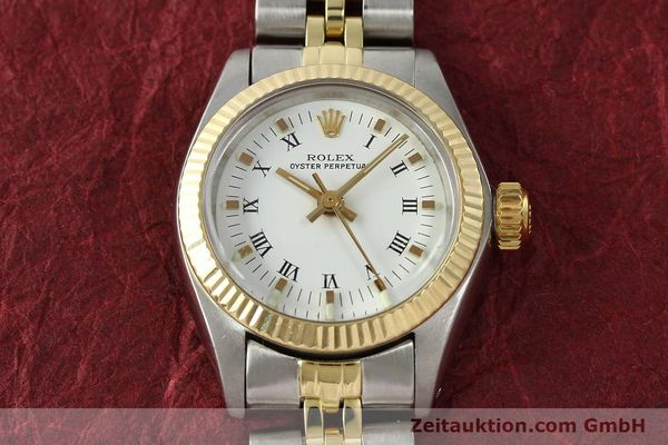 Used luxury watch Rolex Oyster Perpetual steel / gold automatic Kal. 2030 Ref. 6719  | 142768 15