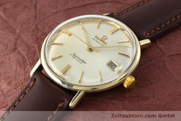 Used luxury watch Omega Seamaster steel / gold automatic Kal. 562  | 142770 01
