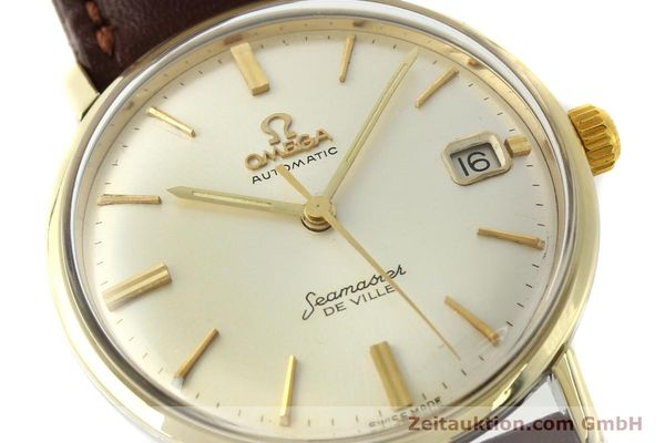 Used luxury watch Omega Seamaster steel / gold automatic Kal. 562  | 142770 02