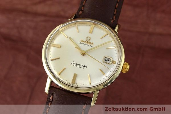 Used luxury watch Omega Seamaster steel / gold automatic Kal. 562  | 142770 04