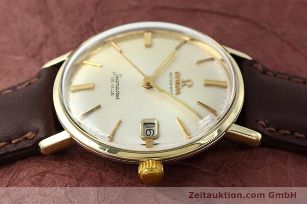 Used luxury watch Omega Seamaster steel / gold automatic Kal. 562  | 142770 05