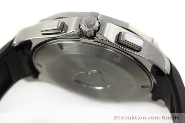 Used luxury watch Tag Heuer Aquaracer chronograph steel quartz Kal. S Ref. CAF7010  | 142771 08