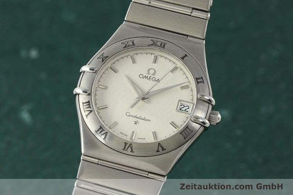Used luxury watch Omega Constellation steel quartz Kal. 1532  | 142773 04