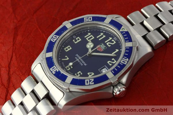 Used luxury watch Tag Heuer Professional steel quartz Kal. ETA F06.111 Ref. WM1113  | 142774 01