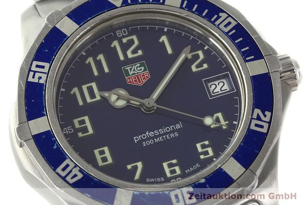 Used luxury watch Tag Heuer Professional steel quartz Kal. ETA F06.111 Ref. WM1113  | 142774 02