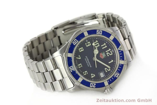 Used luxury watch Tag Heuer Professional steel quartz Kal. ETA F06.111 Ref. WM1113  | 142774 03