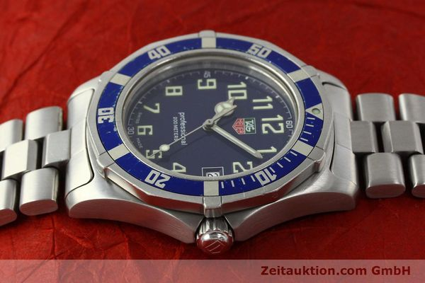 Used luxury watch Tag Heuer Professional steel quartz Kal. ETA F06.111 Ref. WM1113  | 142774 05