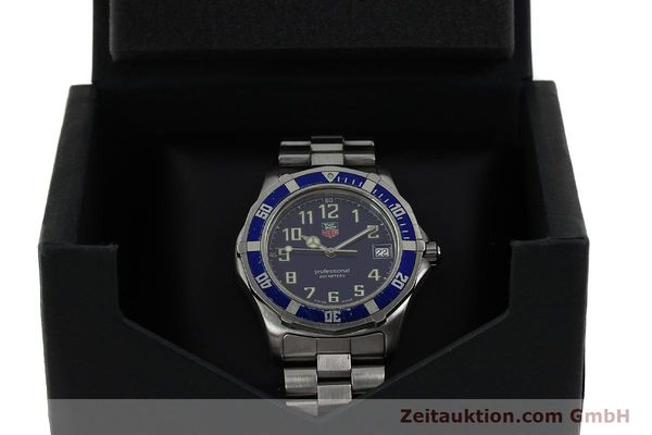 Used luxury watch Tag Heuer Professional steel quartz Kal. ETA F06.111 Ref. WM1113  | 142774 07