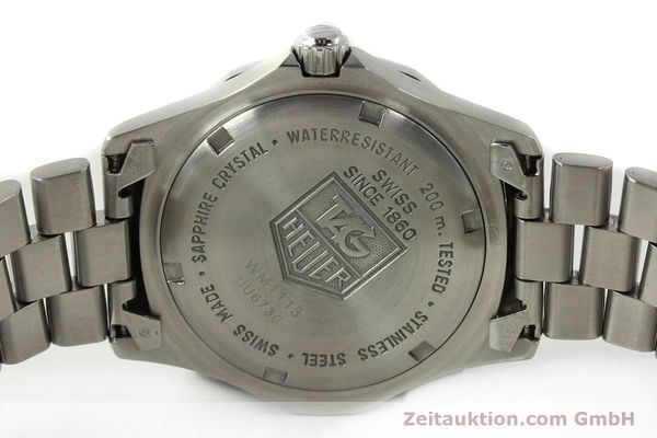 Used luxury watch Tag Heuer Professional steel quartz Kal. ETA F06.111 Ref. WM1113  | 142774 09