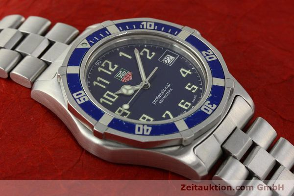 Used luxury watch Tag Heuer Professional steel quartz Kal. ETA F06.111 Ref. WM1113  | 142774 13