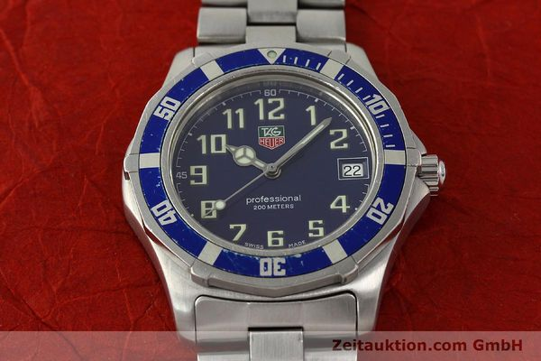Used luxury watch Tag Heuer Professional steel quartz Kal. ETA F06.111 Ref. WM1113  | 142774 14