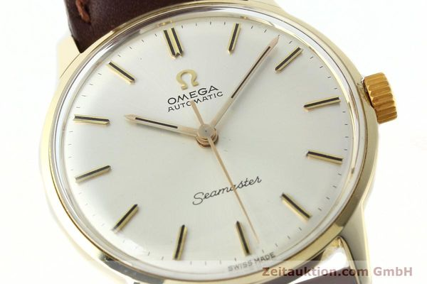 Used luxury watch Omega Seamaster 14 ct yellow gold automatic Kal. 552  | 142775 02
