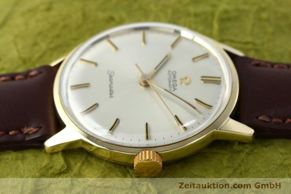 Used luxury watch Omega Seamaster 14 ct yellow gold automatic Kal. 552  | 142775 05