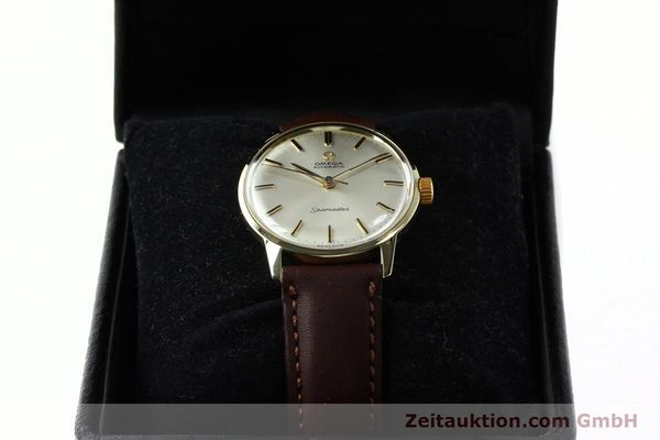 Used luxury watch Omega Seamaster 14 ct yellow gold automatic Kal. 552  | 142775 07