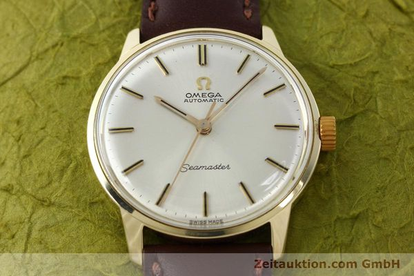 Used luxury watch Omega Seamaster 14 ct yellow gold automatic Kal. 552  | 142775 14