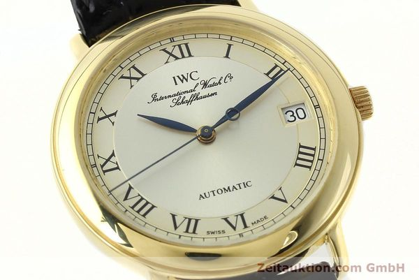 Used luxury watch IWC Portofino 18 ct gold automatic Kal. 889/1 Ref. 3209  | 142777 02