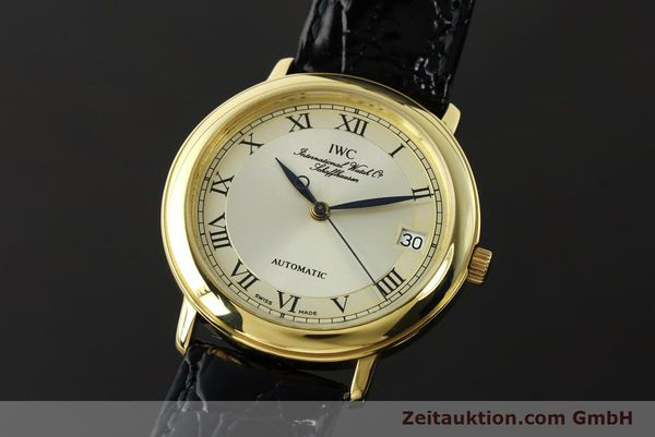 Used luxury watch IWC Portofino 18 ct gold automatic Kal. 889/1 Ref. 3209  | 142777 04